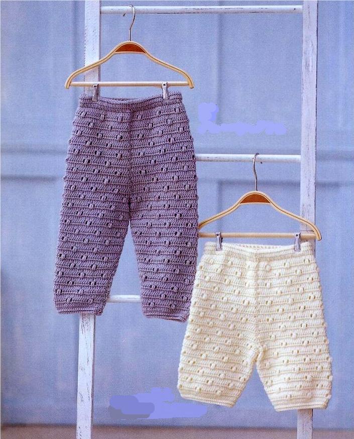 """Pantaloni crosetati """"Baby"""""""